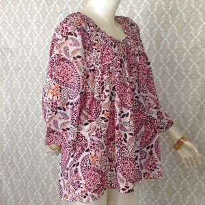 Woman Within SZ 18/20  L Polyester Blouse